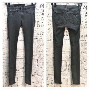 Rag & Bone Legging Skinny Jeans Dark Night Wash 25